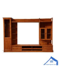 Tủ tivi phòng khách đứng phong cách Đông Dương - KT33