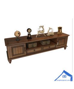 Tủ tivi phòng khách gỗ tự nhiên - KT07