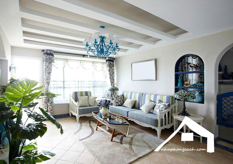 Phong cách thiết kế nội thất Địa Trung Hải