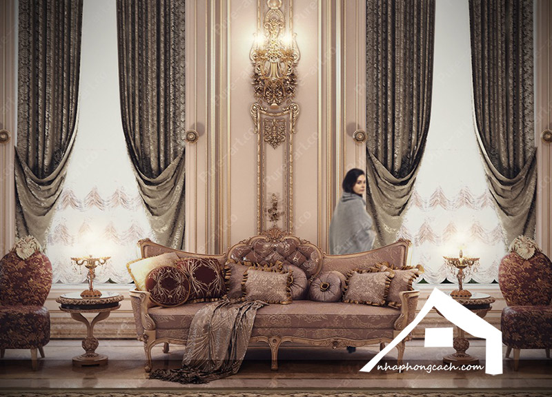Phong cách thiết kế nội thất Baroque