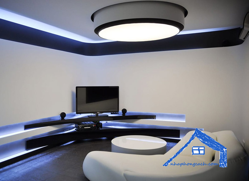Phong cách thiết kế nội thất Hitech