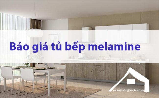 Báo-giá-tủ-bếp-melamine