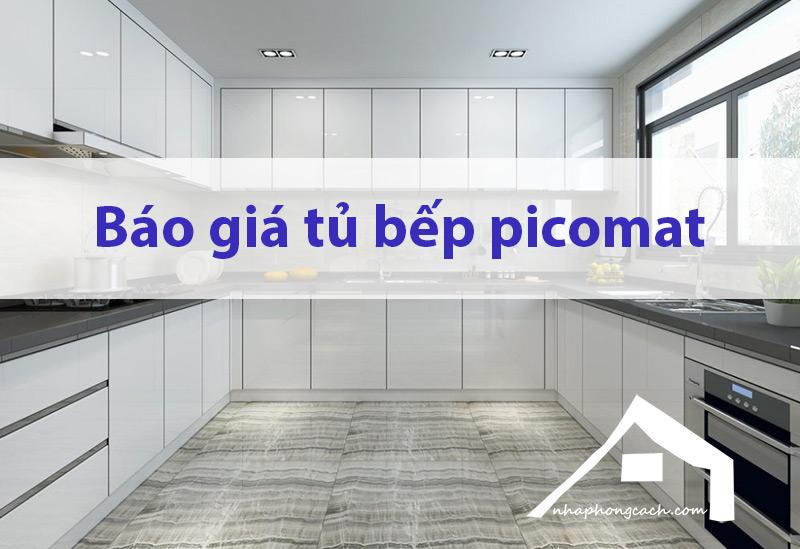Báo-giá-tủ-bếp-nhựa-Picomat