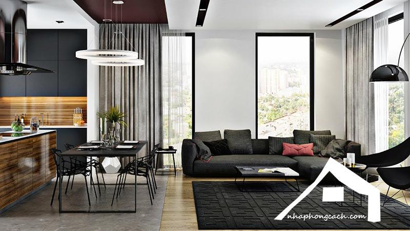 10+-thiết-kế-nội-thất-phòng-khách-liền-bếp