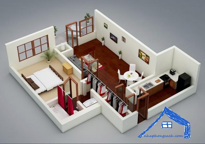 20+-thiết-kế-nội-thất-chung-cư-1-phòng-ngủ-14