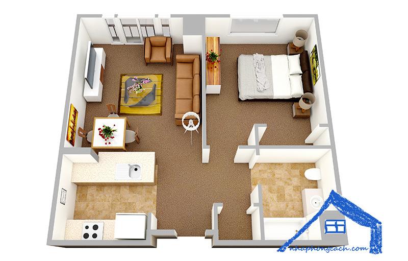 20+-thiết-kế-nội-thất-chung-cư-1-phòng-ngủ-15