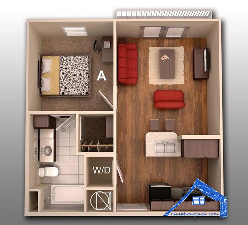 20+-thiết-kế-nội-thất-chung-cư-1-phòng-ngủ-23