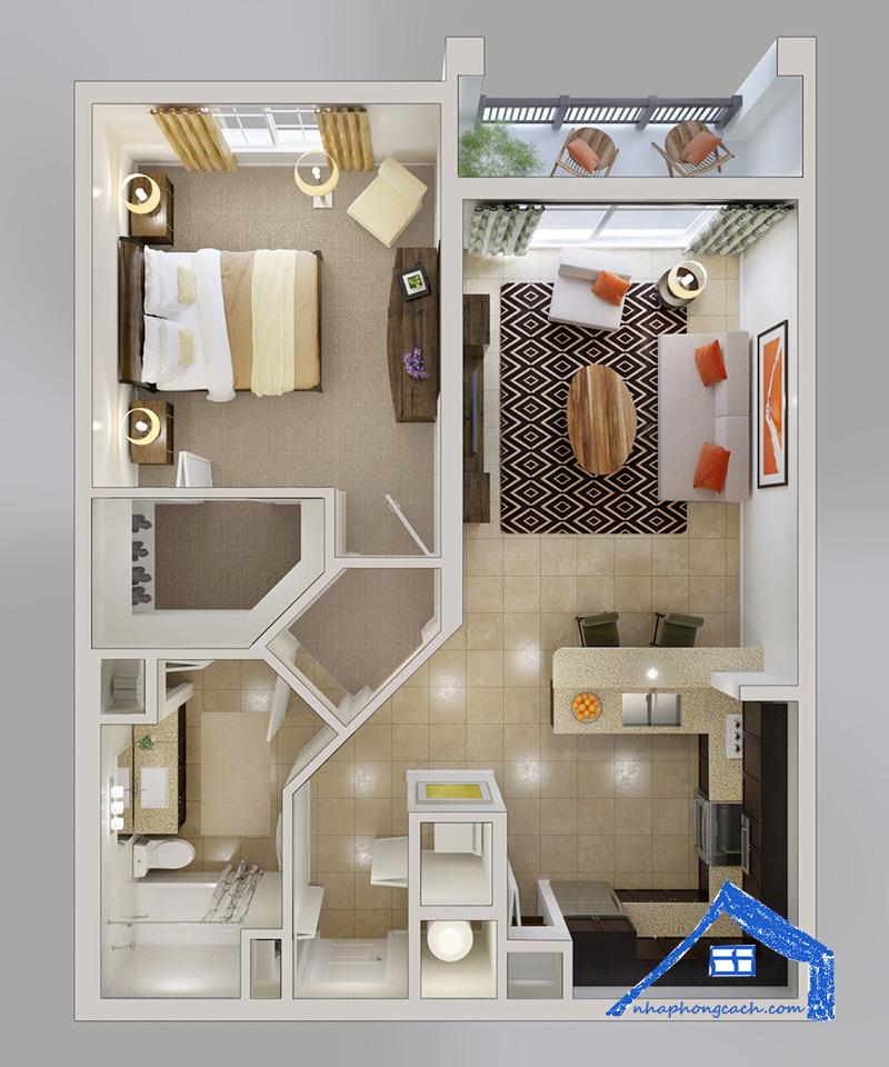 20+-thiết-kế-nội-thất-chung-cư-1-phòng-ngủ-24
