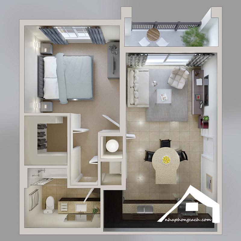 20+-thiết-kế-nội-thất-chung-cư-1-phòng-ngủ-3