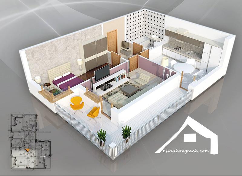 20+-thiết-kế-nội-thất-chung-cư-1-phòng-ngủ-5