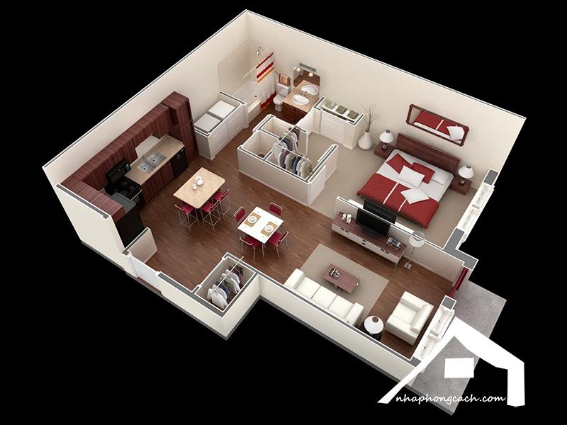 20+-thiết-kế-nội-thất-chung-cư-1-phòng-ngủ-6