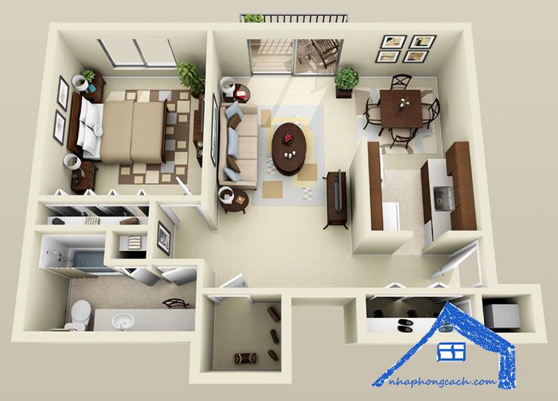 20+-thiết-kế-nội-thất-chung-cư-1-phòng-ngủ-9