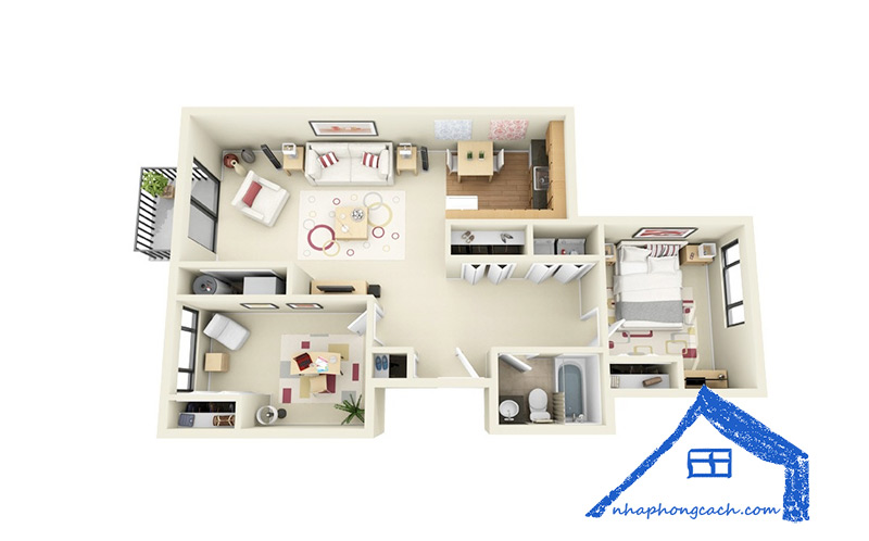 50+-thiết-kế-chung-cư-2-phòng-ngủ-16