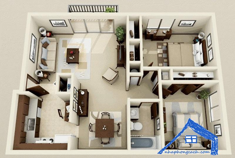50+-thiết-kế-chung-cư-2-phòng-ngủ-22