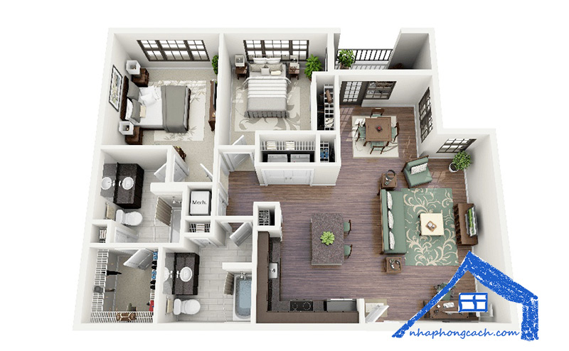 50+-thiết-kế-chung-cư-2-phòng-ngủ-30