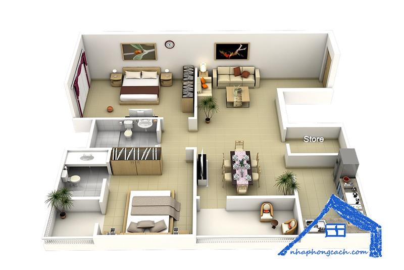 50+-thiết-kế-chung-cư-2-phòng-ngủ-35