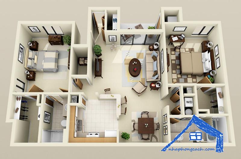 50+-thiết-kế-chung-cư-2-phòng-ngủ-36