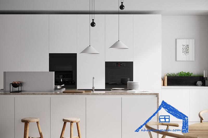 Cách-thiết-kế-phòng-bếp-phong-cách-tối-giản