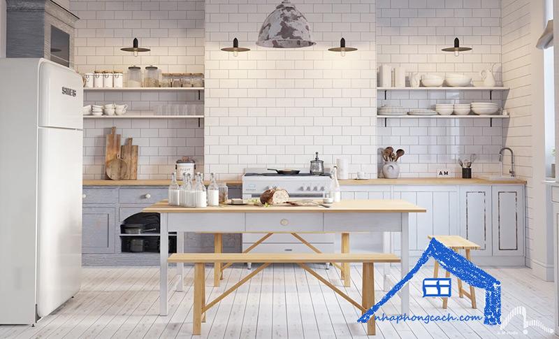 Phòng-bếp-phong-cách-Bắc-Âu