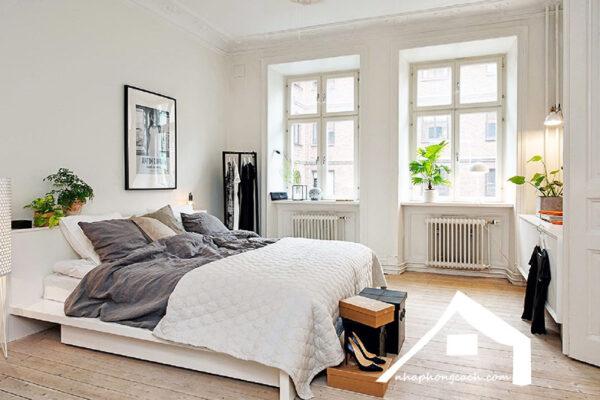 Phòng-ngủ-phong-cách-Bắc-Âu-(Scandinavian)