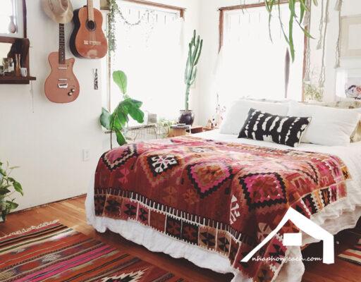Phòng-ngủ-phong-cách-Bohemian