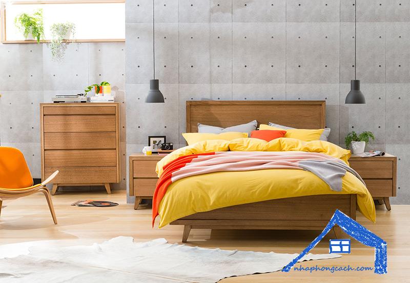 Phòng-ngủ-phong-cách-Retro