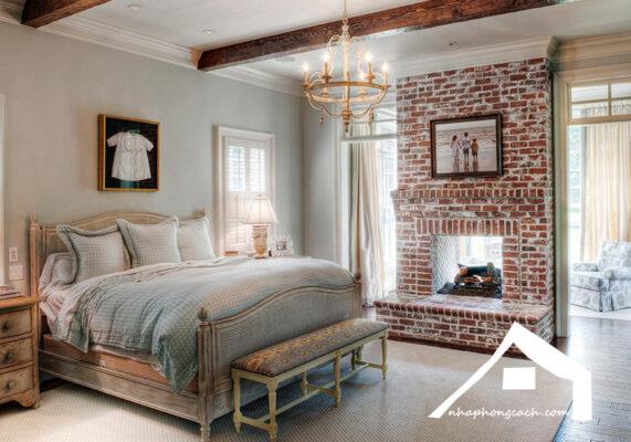 Phòng-ngủ-phong-cách-Rustic