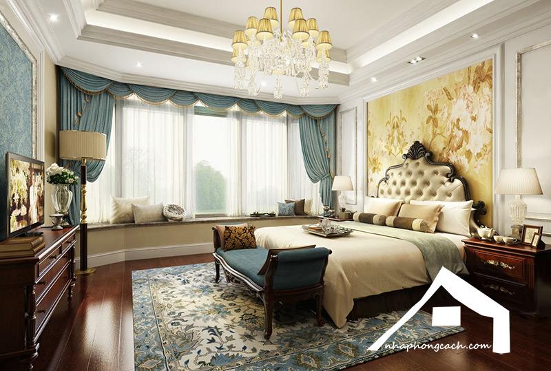 Phòng-ngủ-phong-cách-tân-cổ-điển