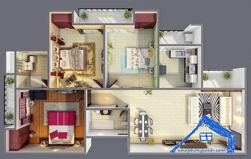 Thiết-kế-nội-thất-chung-cư-3-phòng-ngủ-27