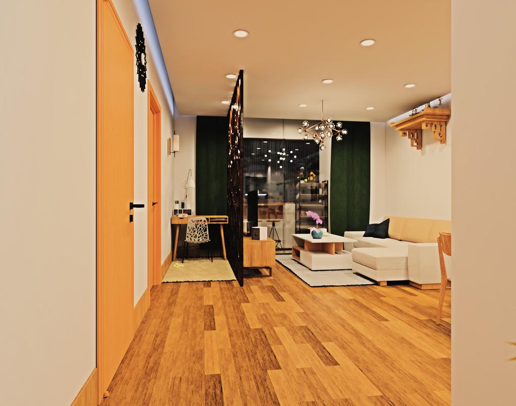thiết kế nội thất time city căn 90m2 10