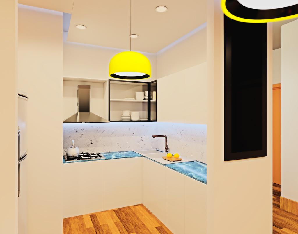 thiết kế nội thất time city căn 90m2 9