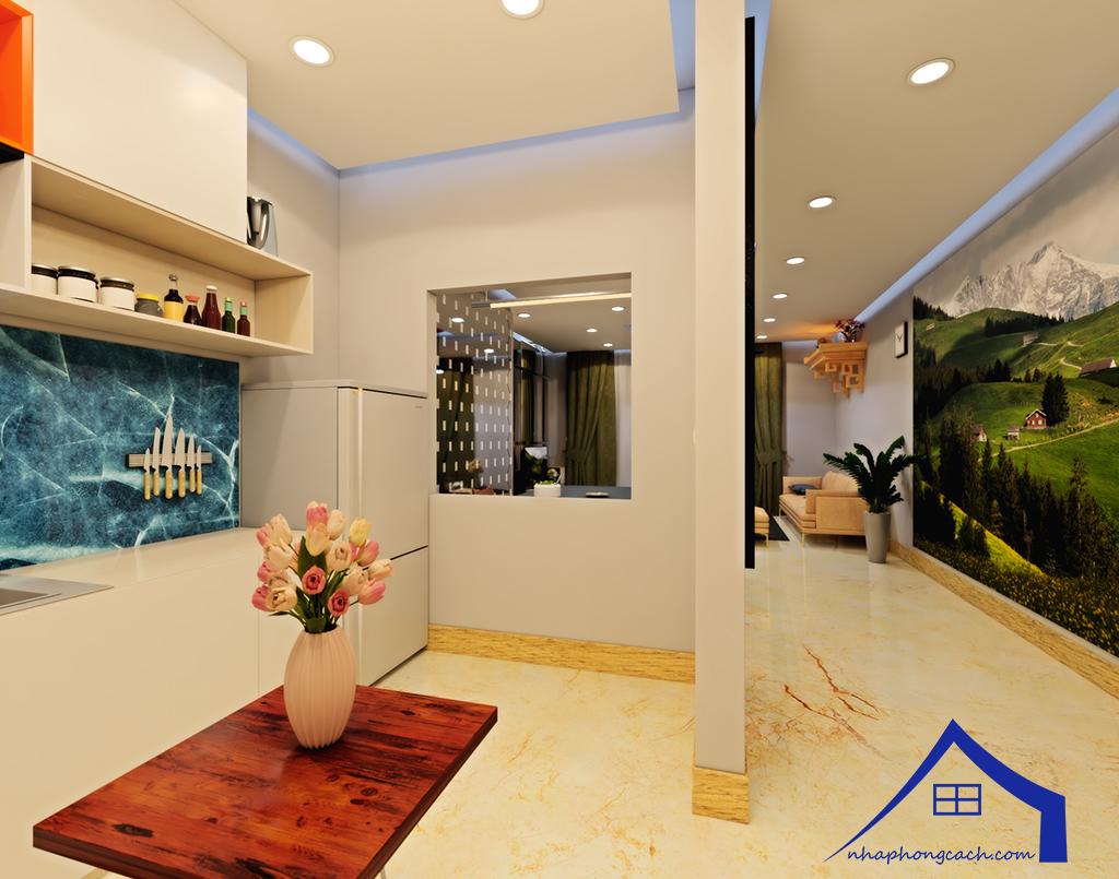 Thiết kế nội thất Times City tòa T1& T4 căn 02, 16 diện tích 110m2 14