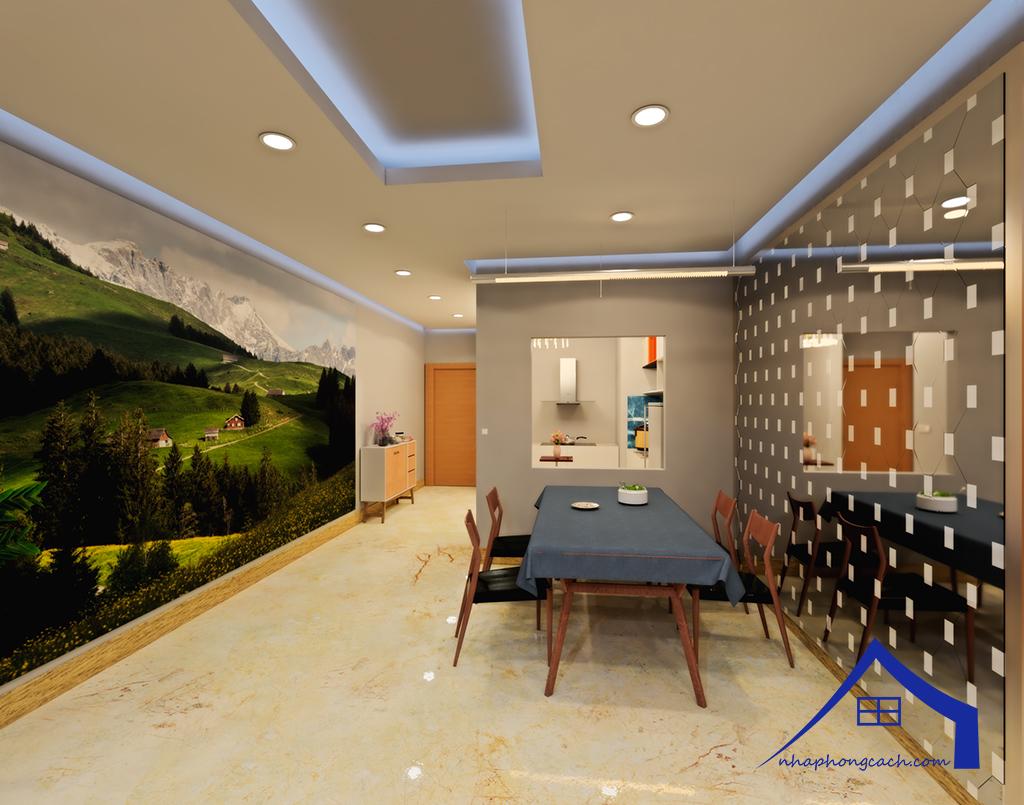 Thiết kế nội thất Times City tòa T1& T4 căn 02, 16 diện tích 110m2 15