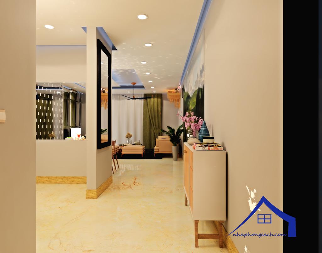 Thiết kế nội thất Times City tòa T1& T4 căn 02, 16 diện tích 110m2 16