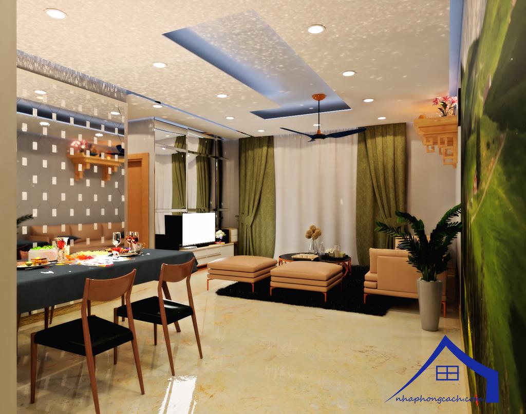 Thiết kế nội thất Times City tòa T1& T4 căn 02, 16 diện tích 110m2 17