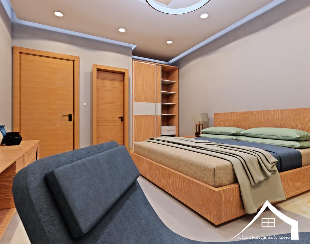 Thiết kế nội thất Times City tòa T1& T4 căn 02, 16 diện tích 110m2 20