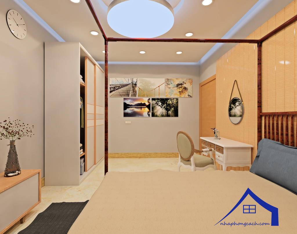 Thiết kế nội thất Times City tòa T1& T4 căn 02, 16 diện tích 110m2