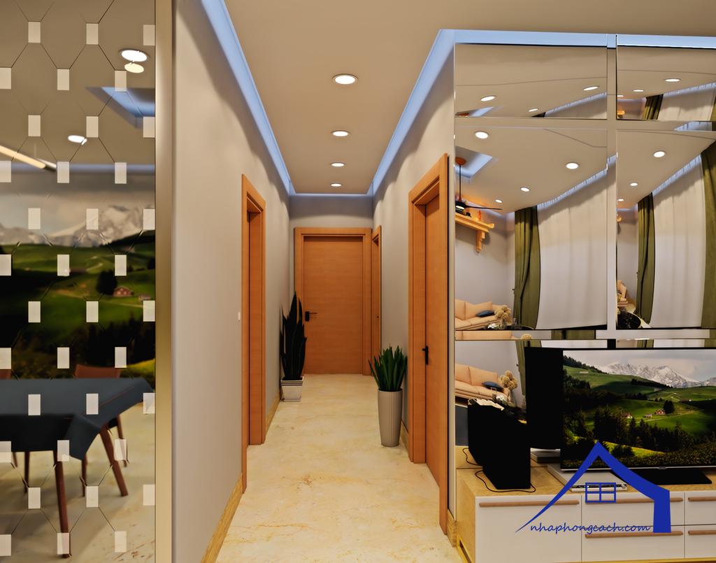 Thiết kế nội thất Times City tòa T1& T4 căn 02, 16 diện tích 110m28