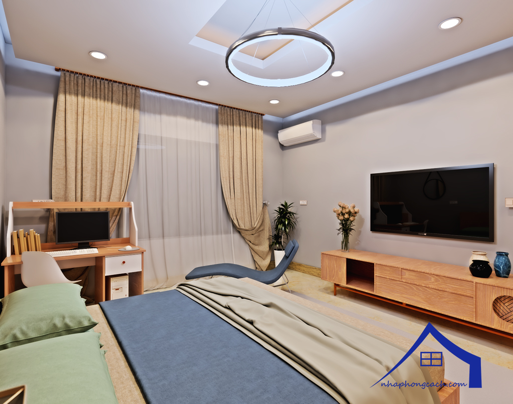 Thiết kế nội thất Times City tòa T1& T4 căn 02, 16 diện tích 110m29