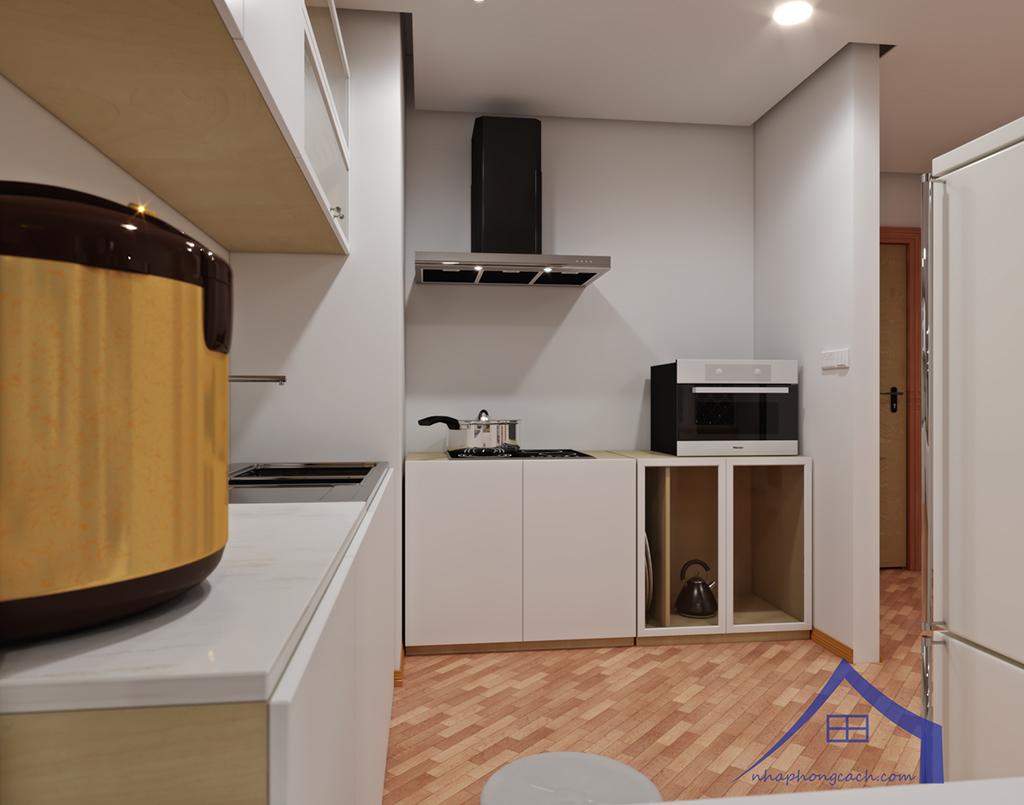Thiết kế nội thất Times City hiện đại + Scandinavian căn 08 & 10 diện tích 94m2-13
