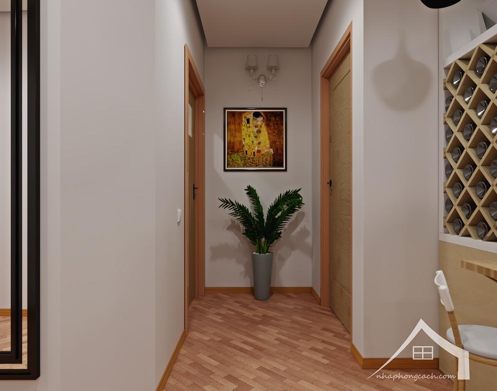 Thiết kế nội thất Times City hiện đại + Scandinavian căn 08 & 10 diện tích 94m2-19