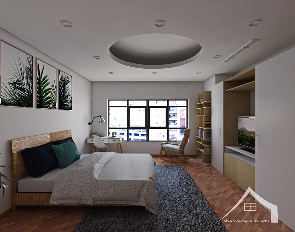 Thiết kế nội thất Times City hiện đại + Scandinavian căn 08 & 10 diện tích 94m2-20