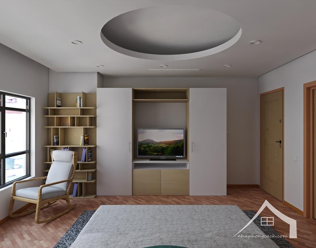 Thiết kế nội thất Times City hiện đại + Scandinavian căn 08 & 10 diện tích 94m2-21