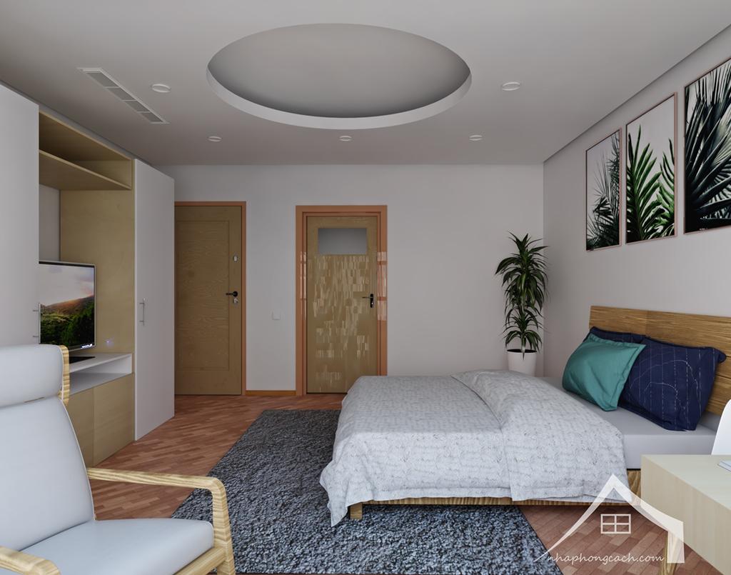 Thiết kế nội thất Times City hiện đại + Scandinavian căn 08 & 10 diện tích 94m2-22