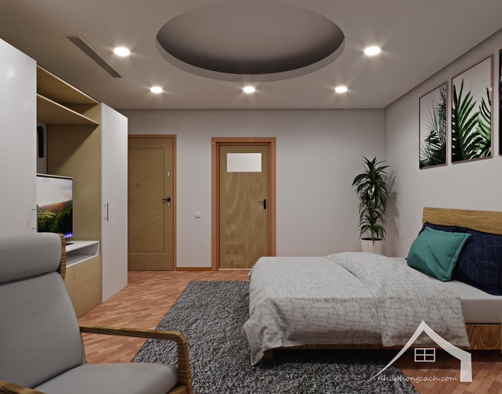 Thiết kế nội thất Times City hiện đại + Scandinavian căn 08 & 10 diện tích 94m2-23