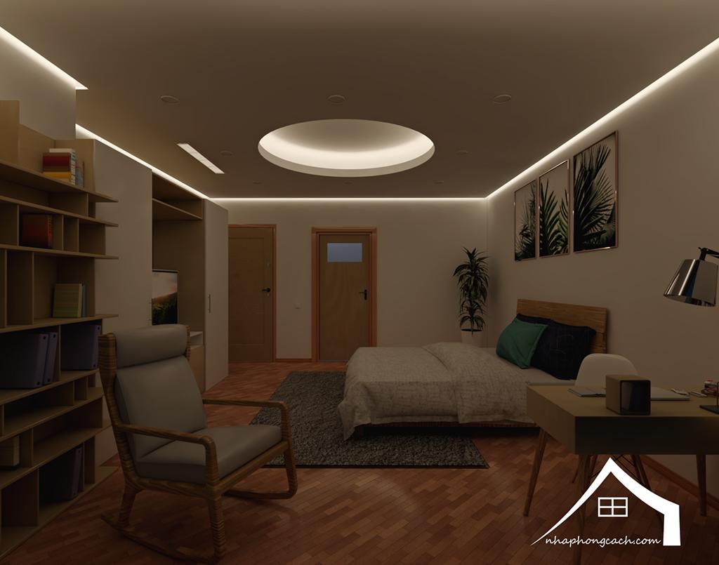 Thiết kế nội thất Times City hiện đại + Scandinavian căn 08 & 10 diện tích 94m2-24