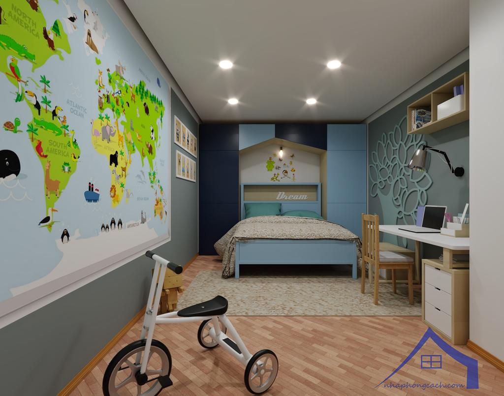 Thiết kế nội thất Times City hiện đại + Scandinavian căn 08 & 10 diện tích 94m2-25