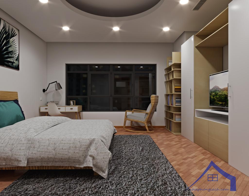 Thiết kế nội thất Times City hiện đại + Scandinavian căn 08 & 10 diện tích 94m2-9