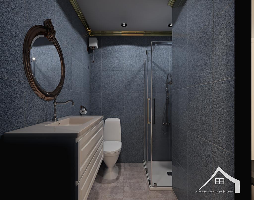 Thiết kế nội thất tân cổ điển cho chung cư Times City căn 02&16 tòa T2- 97m2 14