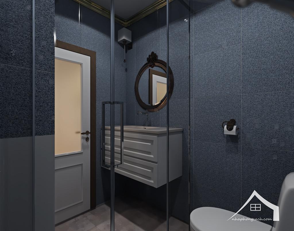 Thiết kế nội thất tân cổ điển cho chung cư Times City căn 02&16 tòa T2- 97m2 15